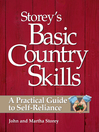 Storey's Basic Country Skills (eBook): A Practical Guide to Self-Reliance