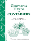 Growing Herbs in Containers (eBook): Storey's Country Wisdom Bulletin A-179