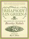 Rhapsody in Green (eBook): The Garden Wit and Wisdom of Beverley Nichols