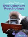 Evolutionary Psychology (eBook): A Beginner's Guide