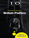 British Politics (eBook): A Beginner's Guide
