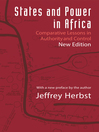 States and Power in Africa (eBook): Comparative Lessons in Authority and Control