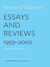 Essays and Reviews (eBook): 1959-2002
