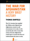 "The War for Afghanistan (eBook): A Very Brief History; From ""Afghanistan: A Cultural and Political History"""