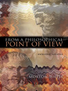 From a Philosophical Point of View (eBook): Selected Studies