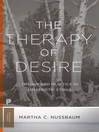 The Therapy of Desire (eBook): Theory and Practice in Hellenistic Ethics