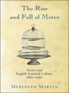 The Rise and Fall of Meter (eBook): Poetry and English National Culture, 1860—1930