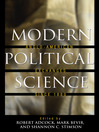 Modern Political Science (eBook): Anglo-American Exchanges since 1880