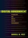 Digital Government (eBook): Technology and Public Sector Performance