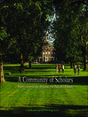 A Community of Scholars (eBook): Impressions of the Institute for Advanced Study