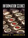 Information Science (eBook)