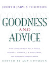 Goodness and Advice (eBook)