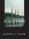 Introduction to Atmospheric Chemistry (eBook)
