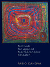 Methods for Applied Macroeconomic Research (eBook)