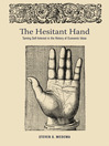 The Hesitant Hand (eBook): Taming Self-Interest in the History of Economic Ideas
