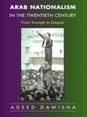 Arab Nationalism in the Twentieth Century (eBook): From Triumph to Despair