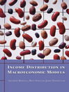 Income Distribution in Macroeconomic Models (eBook)