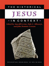 The Historical Jesus in Context (eBook)