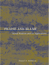 Praise and Blame (eBook): Moral Realism and Its Applications