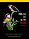 Birds of Peru (eBook)