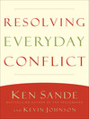 Resolving Everyday Conflict (eBook)