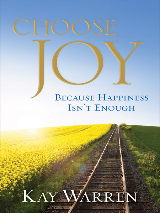 Choose Joy (eBook): Because Happiness Isn't Enough