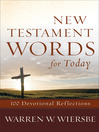 New Testament Words for Today (eBook): 100 Devotional Reflections