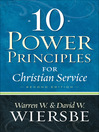 10 Power Principles for Christian Service (eBook)