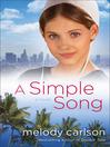 A Simple Song (eBook): A Novel