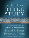 Inductive Bible Study (eBook): A Comprehensive Guide to the Practice of Hermeneutics