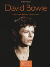David Bowie (eBook): The Story Behind Every Song