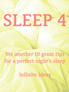 Sleep 4 (eBook)
