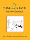 The Worst-Case Scenario 2011 Daily Survival Calendar (eBook)