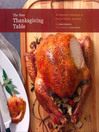 The New Thanksgiving Table (eBook)