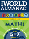 The World Almanac for Kids Puzzler Deck (eBook): Math, Ages 5-7, Grades K-1