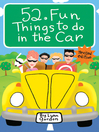 52® Fun Things to Do in the Car (eBook)