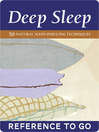 The Deep Sleep Deck (eBook): 50 Natural Sleep-Inducing Techniques