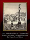 The Common People of Ancient Rome (eBook)