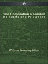 The Corporation of London (eBook)