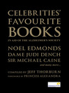 Celebrities' Favourite Books (eBook)