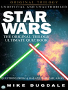 Star Wars The Original Trilogy – The Ultimate Quiz Book (eBook): Questions From a Galaxy Far, Far, Away...