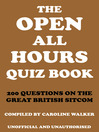 The Open All Hours Quiz Book (eBook)