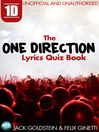 1D: The One Direction Lyrics Quiz Book (eBook)