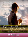 Daily Praise, March (MP3): A Prayer of Praise for Every Day of the Month