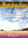 Words from Jesus, March (MP3): A Reading for Each Day in March