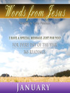 Words from Jesus, January (MP3): A Reading for Each Day in January
