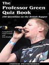 The Professor Green Quiz Book (eBook)
