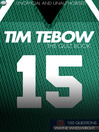 Tim Tebow - The Quiz Book (eBook)