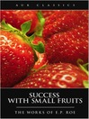 Success with Small Fruits (eBook)