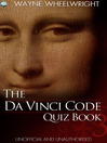 The Da Vinci Code Quiz Book (eBook)